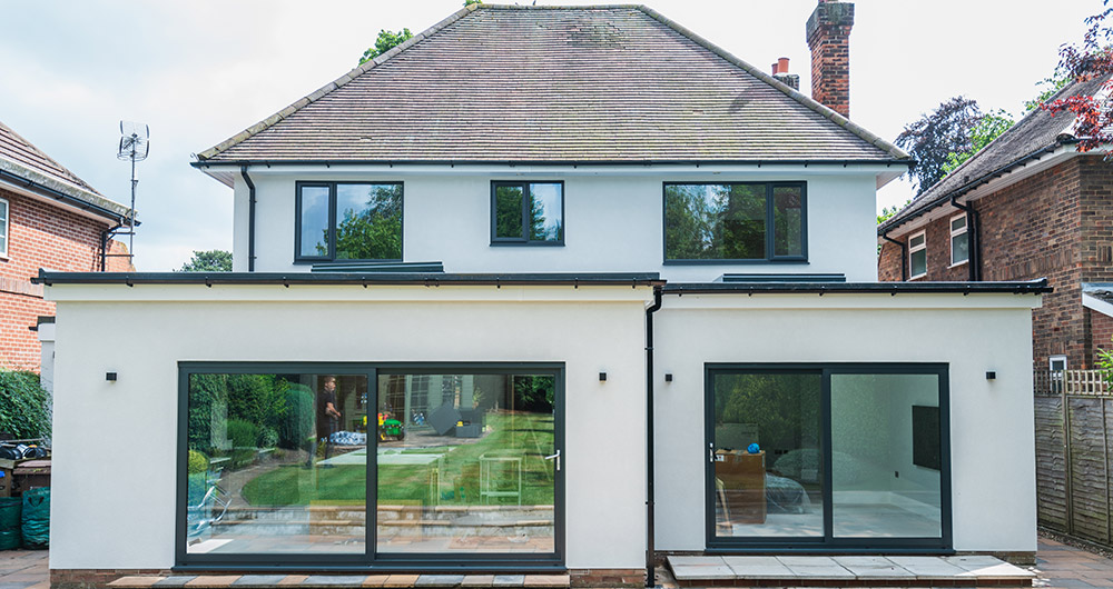 external image of a home extension